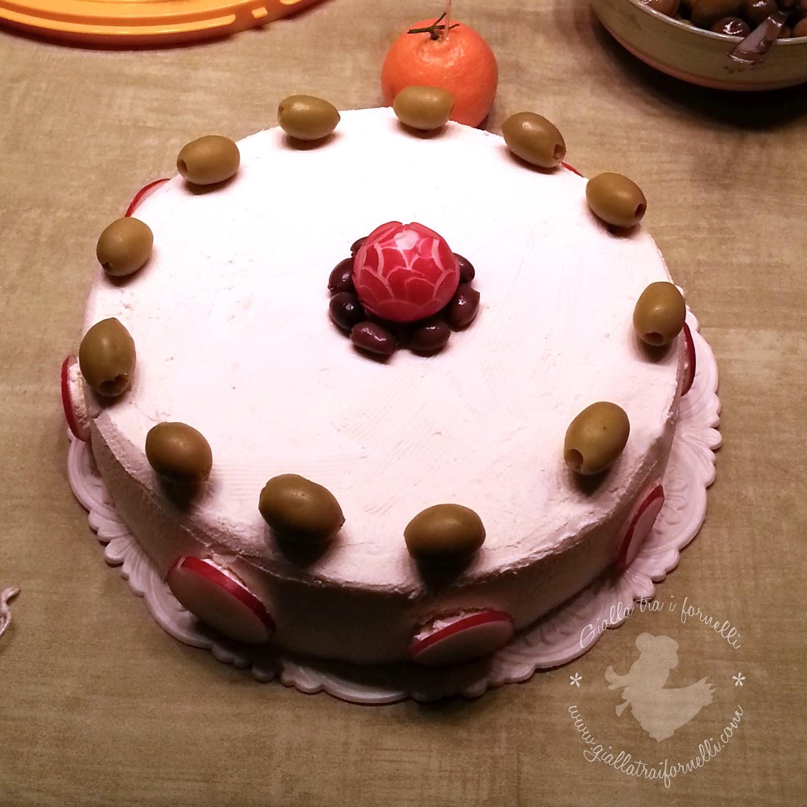 Sandwich Cake - Smörgåstårta - Torta Tramezzino