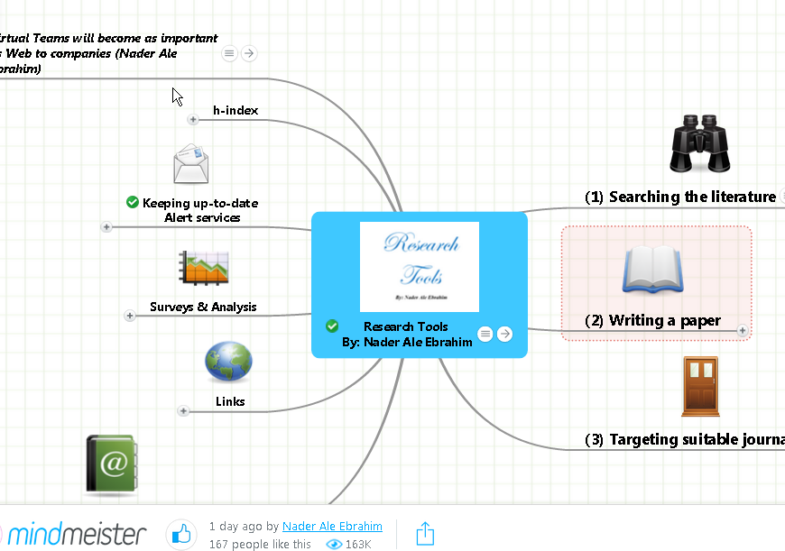 MindMeister Mind Mapping Web App