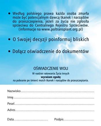 Oświadczenie Woli - 2