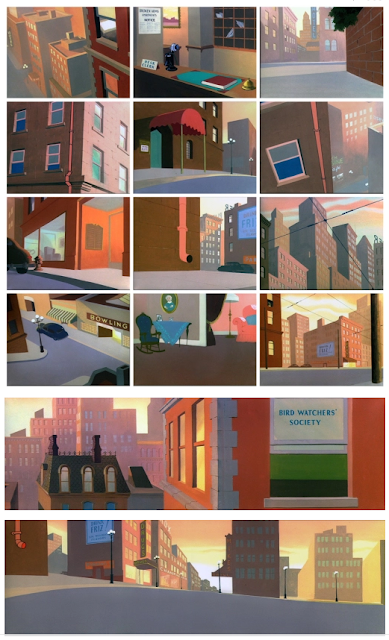 Paul Julian Looney Tunes background art