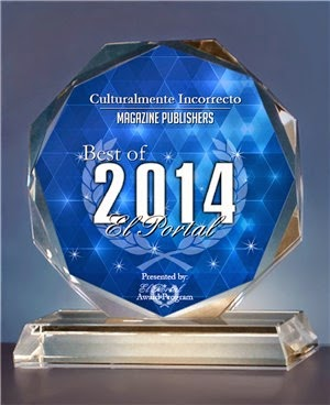 2014  EL PORTAL AWARDS. Best Magazine Publisher