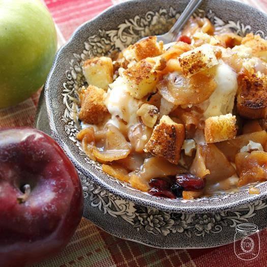 Salted Caramel Apple Pie Sundae