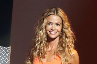 Denise Richards thinks she and ex-husband Charlie Sheen are better off as friends