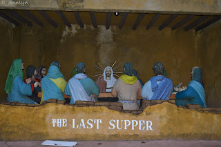 the last supper at Garin farm