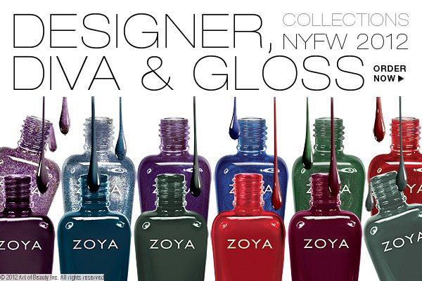 New Zoya 2012 Fall Collection - Designer, Diva &amp; Gloss