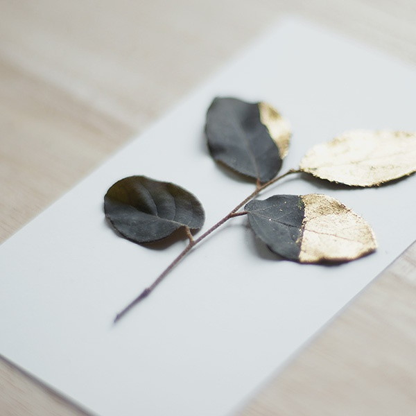 Gilded Leaves