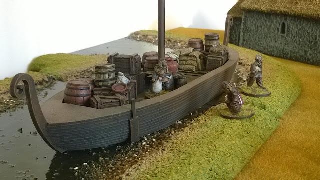 warbases viking knarr long ship longship 28mm saga