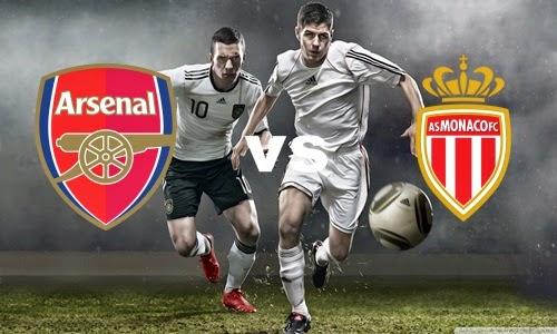 Prediksi Skor Teritu Arsenal vs Monaco jadwal 023 agustus 2014