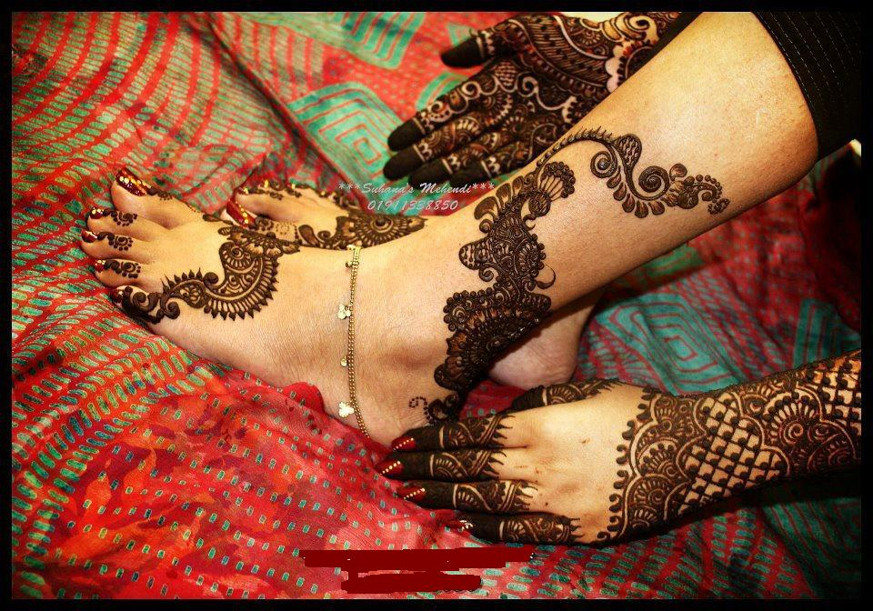 Mehndi Designs Feet Arabic : Top arabic mehndi designs wallpapers pictures