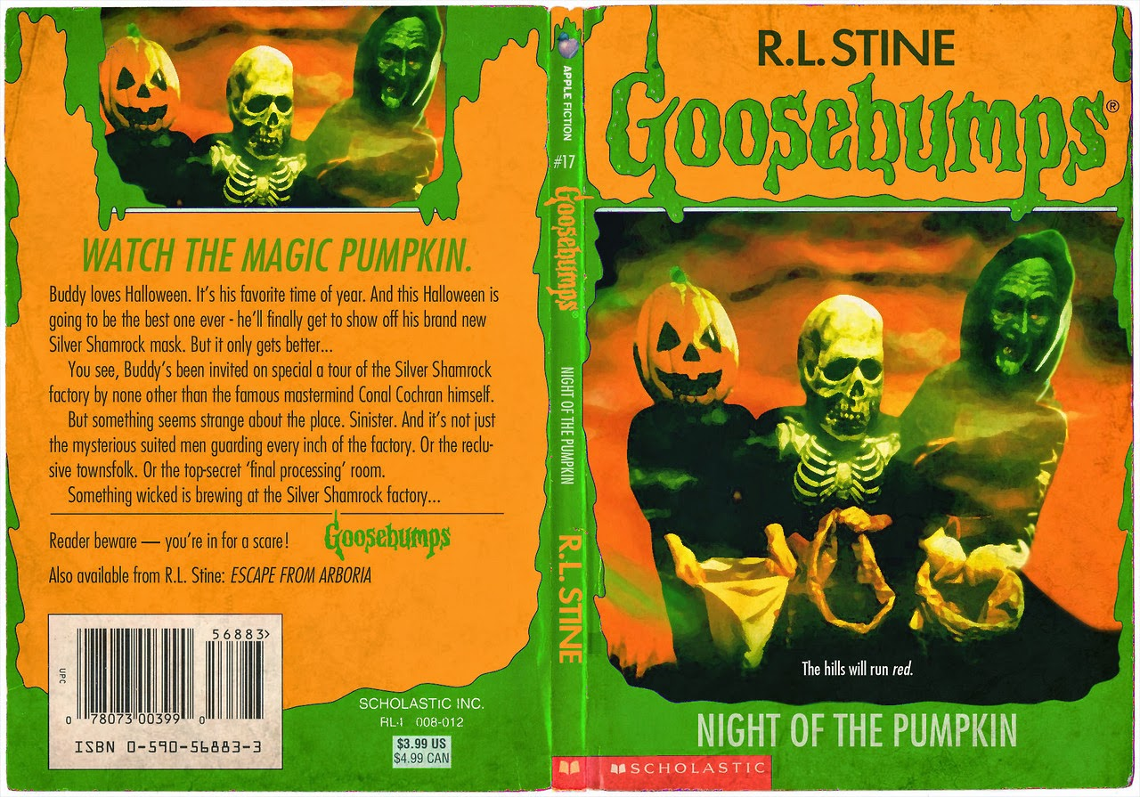 halloween re imagined as rl stine goosebumps book halloween daily news - Halloween Iii Full Movie