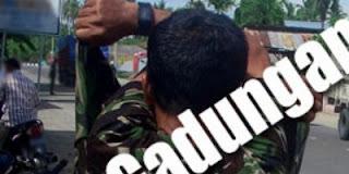 Untuk Menakuti Pemalak, Pusman (TNI Gadungan) Kenakan Seragam TNI