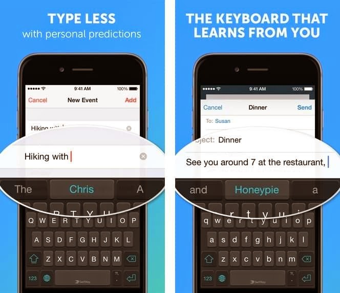 Teclado alternativo para Android e iOS 8 SwiftKey