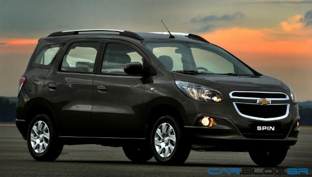 Chevrolet Spin 2013 - Minivan Cobalt