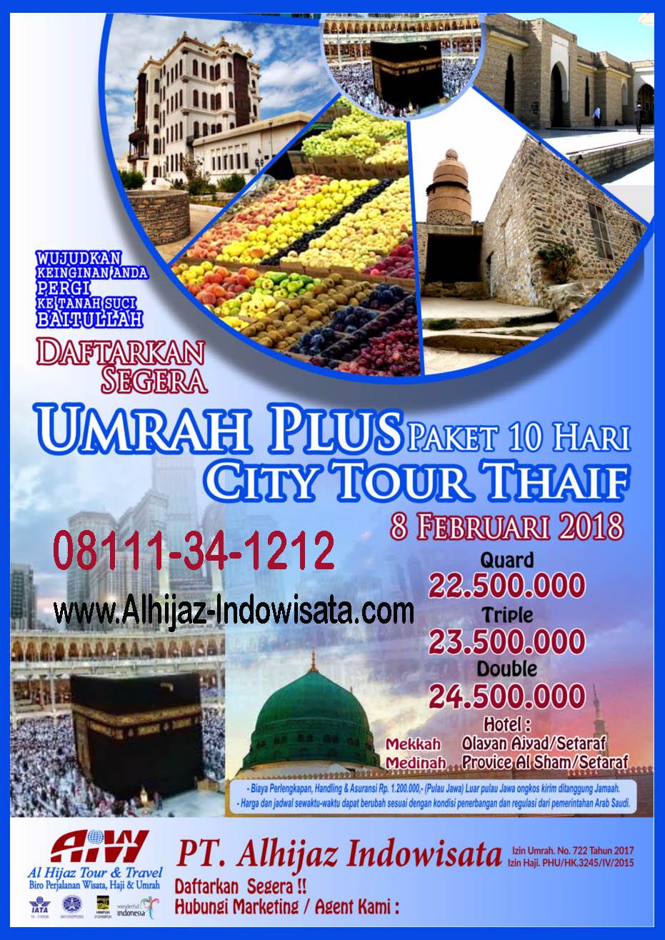 Umroh Tour Thaif CP. 08111-34-1212