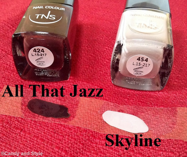 TNS Cosmetics Skyline Collection - All That Jazz and Skyline