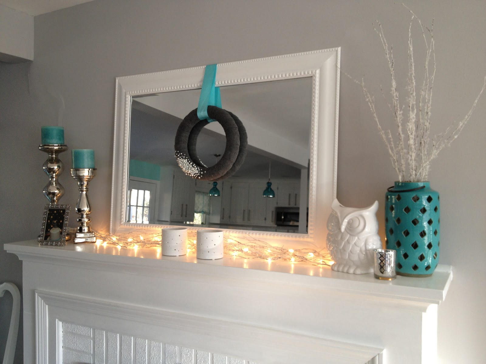 Retro Ranch Reno: Winter Mantel.