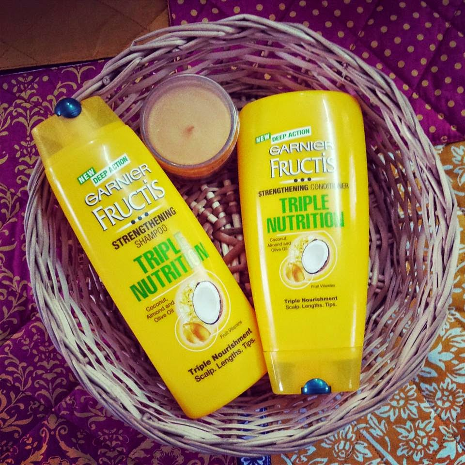 My 30 Day Happy Hair Challenge Story With Garnier Fructis Triple Nutrition Range image