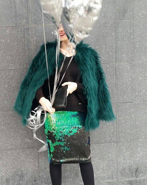 sylwester, new year's party, stylizacje, sylwestrowe stylizacje, party, cekiny, osobista stylistka,
