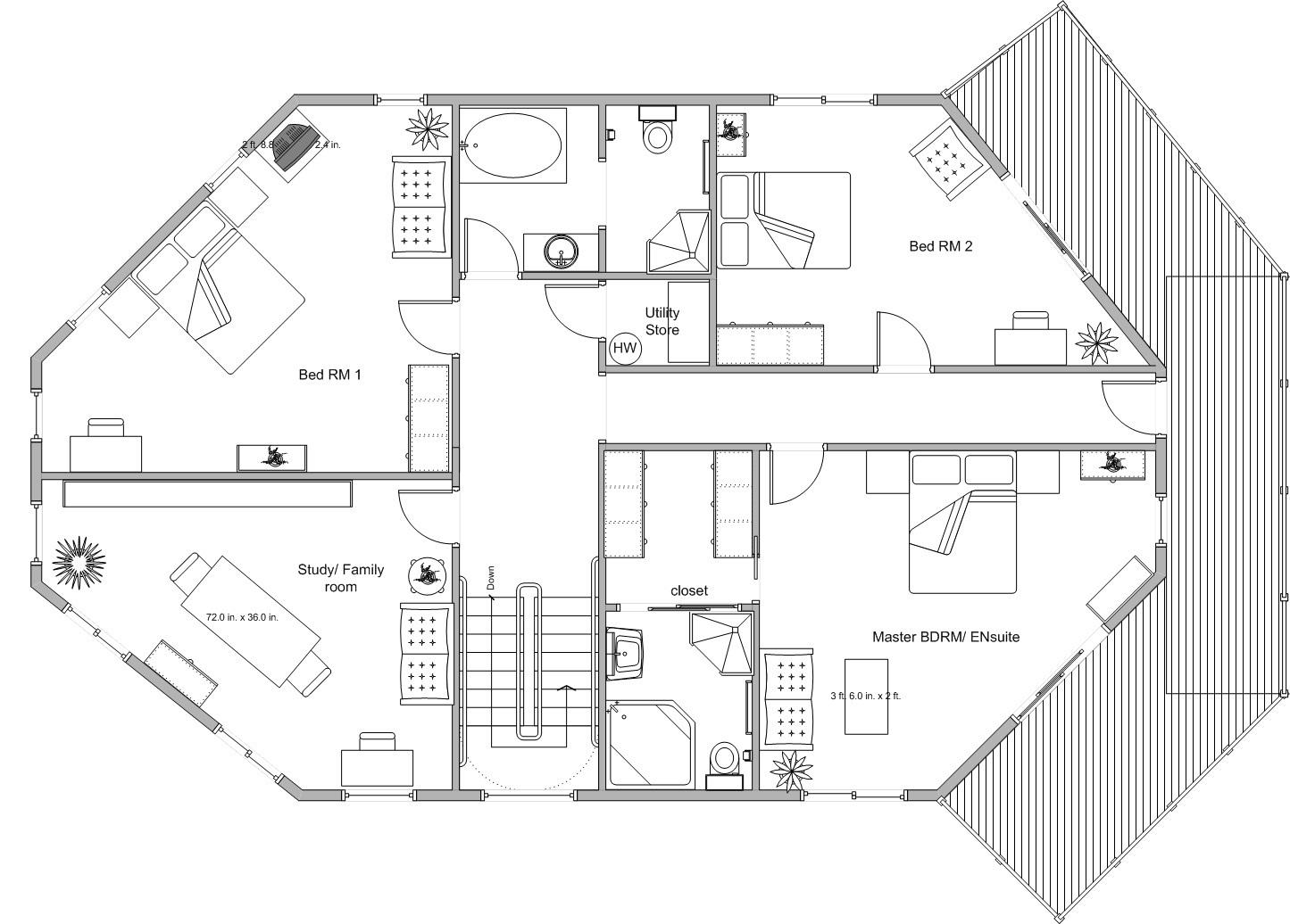 Maisonette houses plans house design plans for Maisonette plans