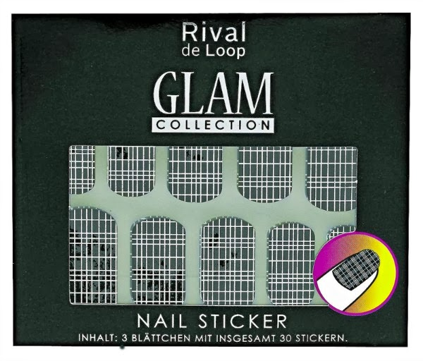 Rival de Loop Glam Collection Nail Sticker