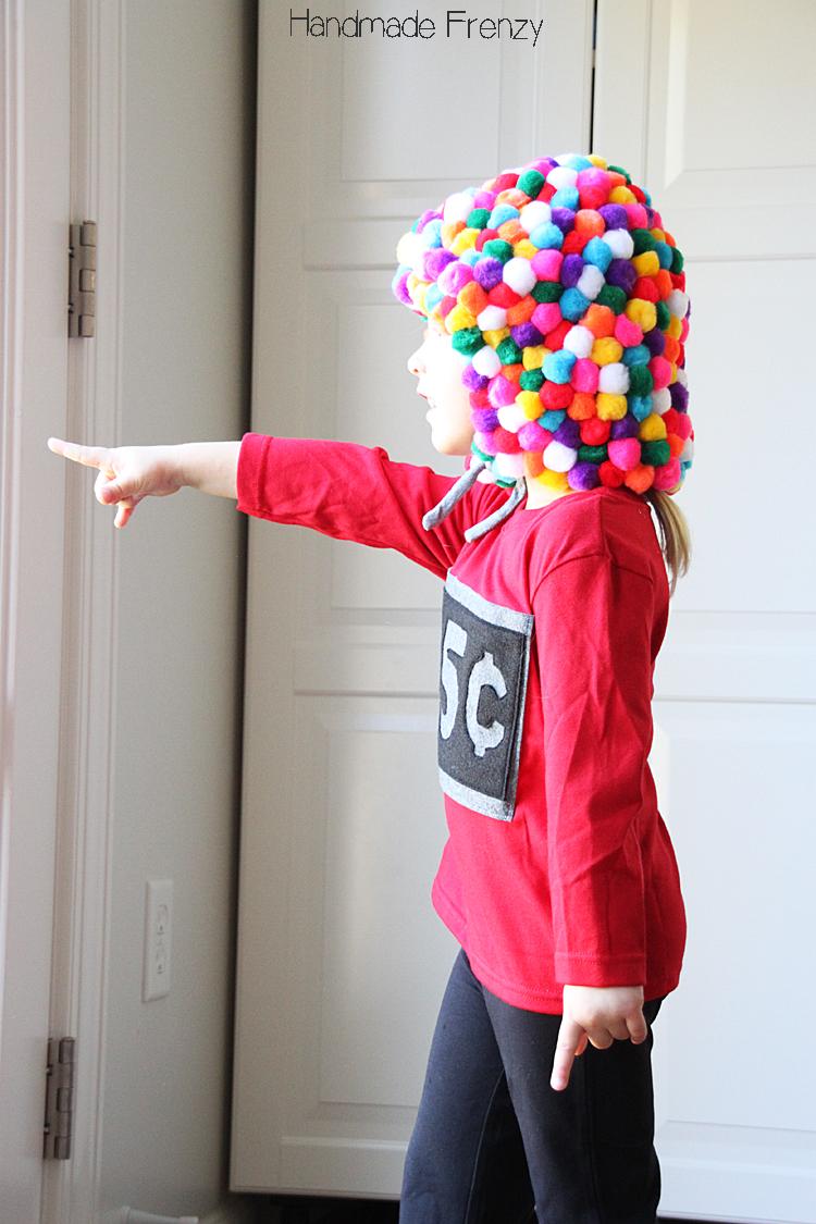 EASY DIY Gumball Machine Costume