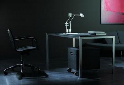 oficina color negro