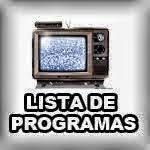 LISTA DE PROGRAMAS AMERICA TV 2