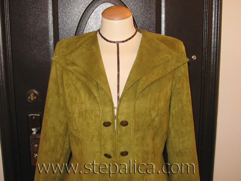 Stepalica: A jacket with double lapels
