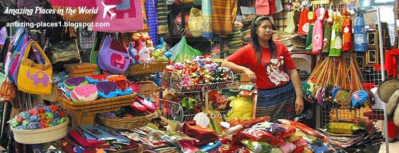 Chatuchak market in Bangkok, interesting markets in the world
