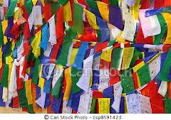 Bandeirinhas de oração