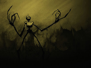 Skeletons Hands Dark Gothic Wallpaper