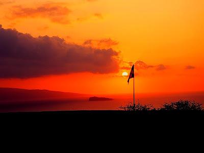 Sunset In Makena Maui, Hawaii Wallpaper