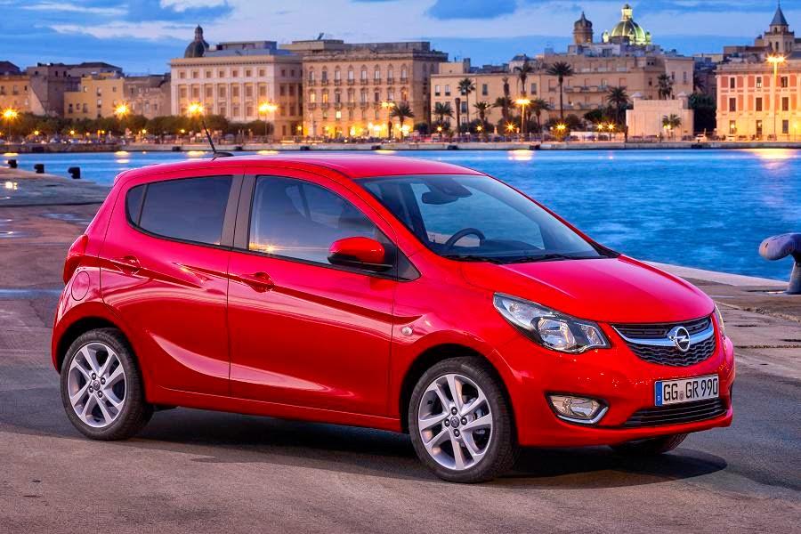 Opel Karl (2015) Front Side