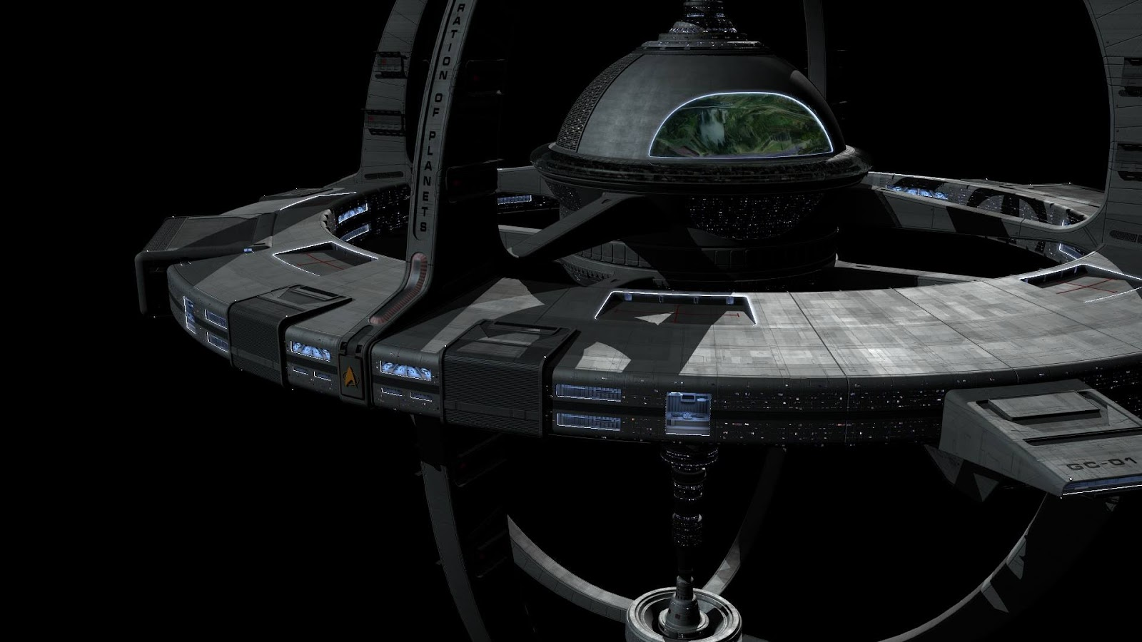 the new ds9 space station - photo #13