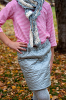 Tutorial: Quilted Mini Skirt