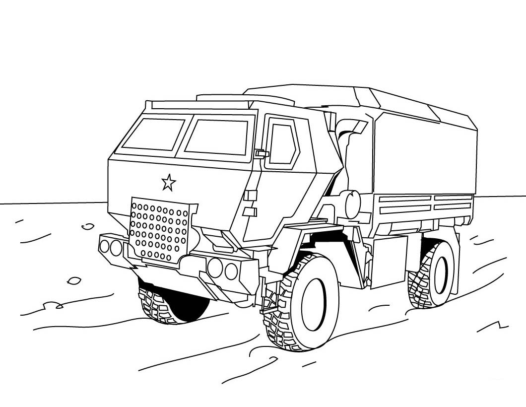 Coloring pages trucks - Truck Coloring Pages 113 Childrens Fire Truck Coloring Pages On Ford Pickup Truck Coloring Pages