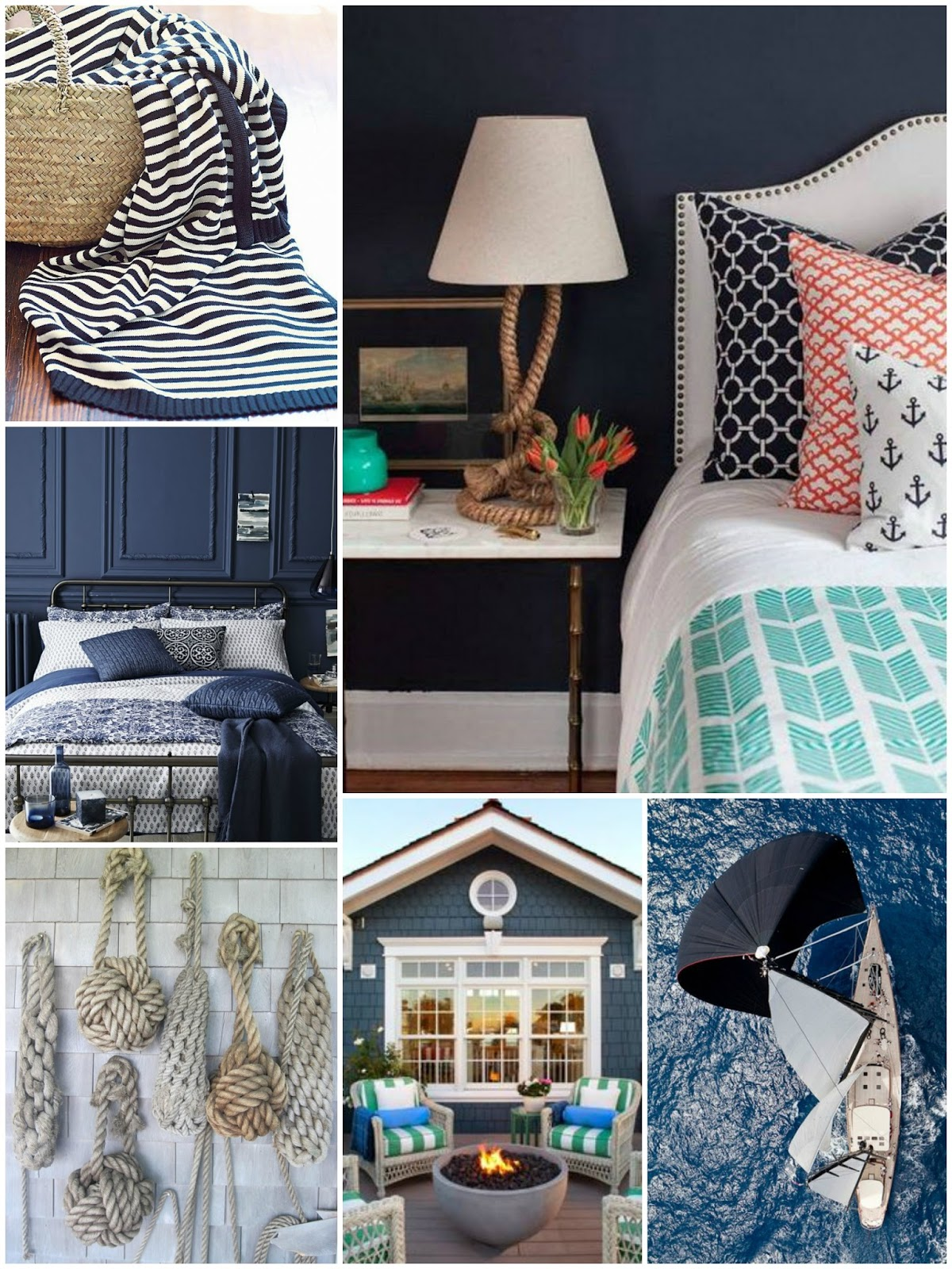 moodboard monday nautical springtime