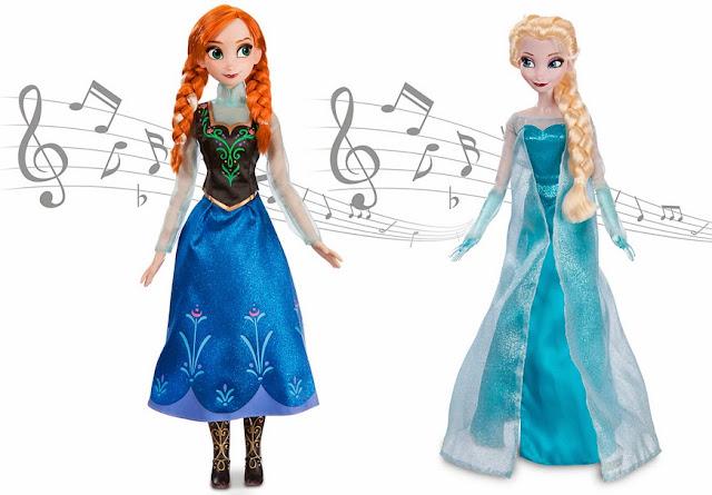 muñecas elsa anna que cantan