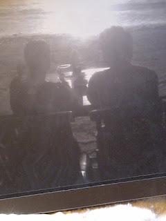 Chris Britt & Kerri Doherty at beach in Denpasar Bali, Indonesia