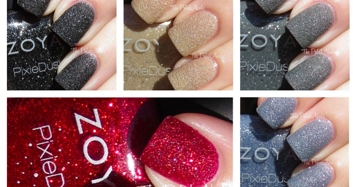 The PolishAholic: Zoya PixieDust Collection Swatches!