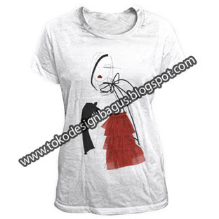 design-kaos-ladies