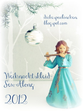 Weihnachtskleid Sew-Along 2012