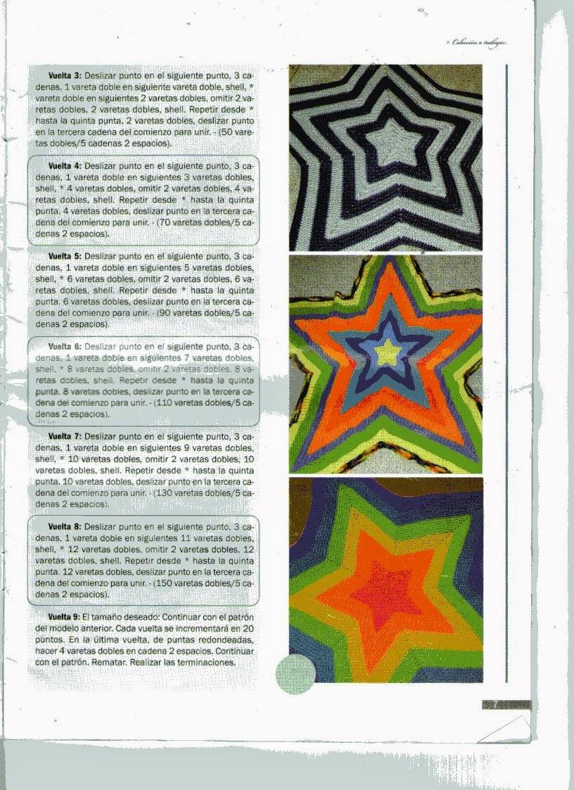 Incursionando en la costura y algo mas...: Manta en forma de estrella...