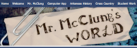 Mr. McClung's World logo