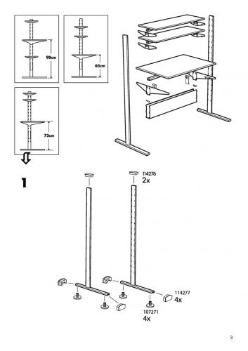 Sale ikea fredrik computer desk workstation some for Ikea assembly instructions help