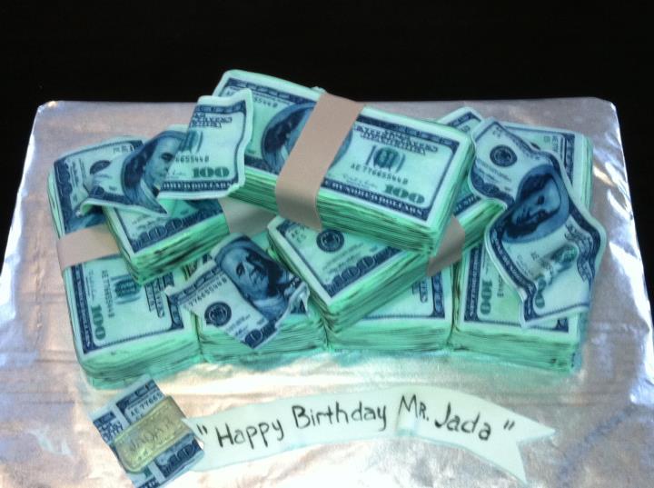 Birthday Money Cake Ideas 66816 Graffiti Cake Company Cele