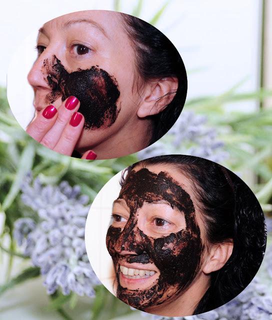 Torfmaske Gesicht