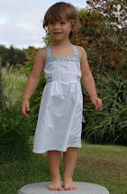 Girls Dress Made From Men's Shirt