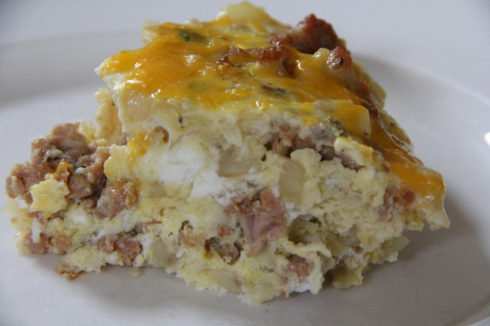 Mix and Match Mama: Sausage & Potato Frittata