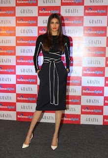 Athiya Shetty Pictures in Short Dress at Grazia Magazine Cover Launch  25282)